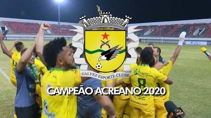Galvez vence Rio Branco-AC na final do 2° turno e conquista Campeonato Acreano pela 1ª vez