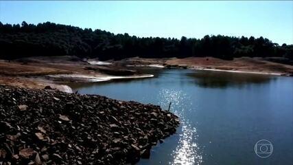 Em setembro, reservatórios do Centro-Oeste, Sudeste e Sul já estavam mais vazios do que deveriam
