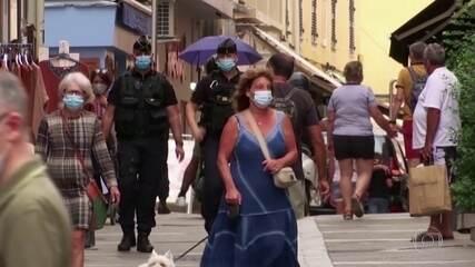 Covid-19: cidades francesas voltam com medidas restritivas