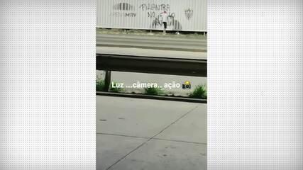 Mesmo após desistência do Atlético-MG, teve protesto contra Thiago Neves