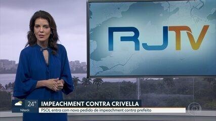 PSOL entra com novo pedido de impeachment contra prefeito