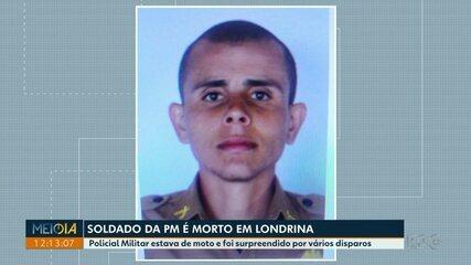 Soldado da Polícia Militar é morto em Londrina