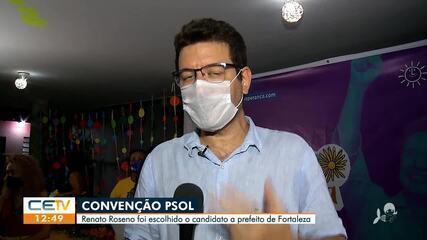 PSOL lança candidatura de Renato Roseno à prefeitura de Fortaleza