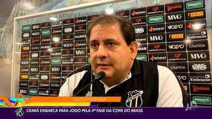 Ceará embarca para Santa Catarina para enfrentar o Brusque pela Copa do Brasil