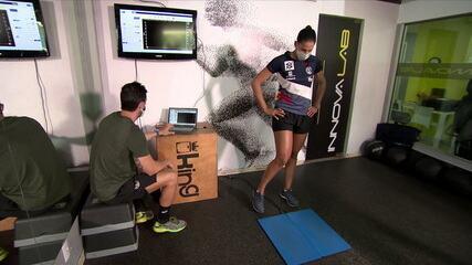 Ágatha e Duda usam tecnologia para retomar treinos após isolamento social