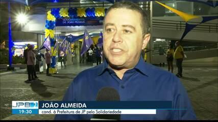 Solidariedade oficializa a candidatura de João Almeida à Prefeitura de João Pessoa