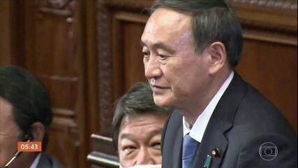 Yoshihide é o novo primeiro-ministro do Japão