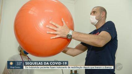 Pacientes fazem tratamento de reabilitação pós-Covid em Indaiatuba