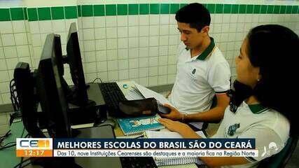 Ideb: Nove das 10 melhores escolas do Brasil são do Ceará