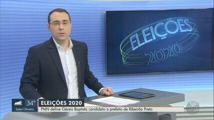 PMN oficializa candidatura de Gérsio Baptista à Prefeitura de Ribeirão Preto, SP