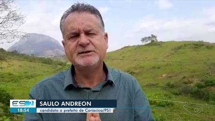 PSB oficializa candidatura de Saulo Andreon à Prefeitura de Cariacica