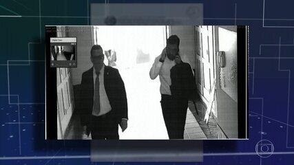 Imagens mostram encontro de governador em exercício do RJ com empresário preso