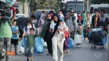 ONU apela para UE agilizar asilo dos imigrantes que moram em campo de refugiados na Grécia