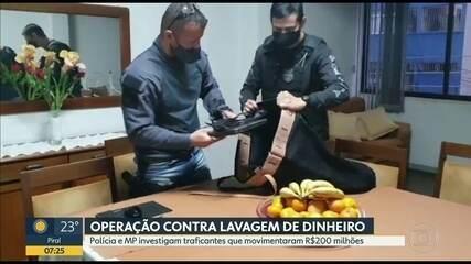 Operação mira lavagem de dinheiro da maior facção criminosa do Rio de Janeiro