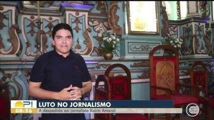 Reveja momentos do repórter Kairo Amaral na tela da TV Clube