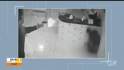 Imagens mostram veterinário matando empresário em São Luís