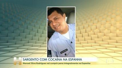 Sargento preso com cocaína na Espanha vai encontrar pena integralmente no país