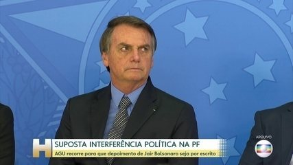 Bolsonaro é intimado a depor, e AGU recorre de decisão de Celso de Mello sobre depoimento