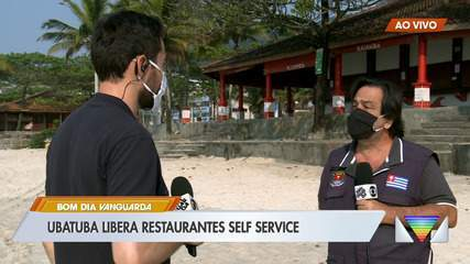 Ubatuba libera serviço de self service em restaurantes