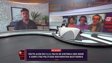 Falta de sintonia com Dome e conflitos políticos movimentam bastidores do Flamengo