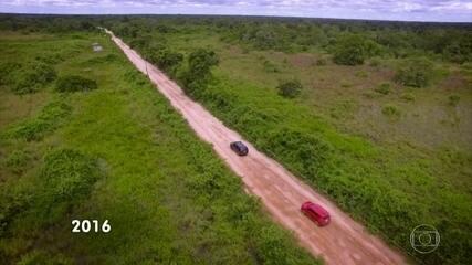 Imagens mostram como era o Pantanal antes de incêndios