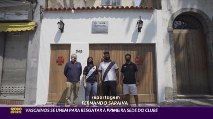 Torcedores localizam e recuperam o local de fundação do Vasco no Centro do Rio