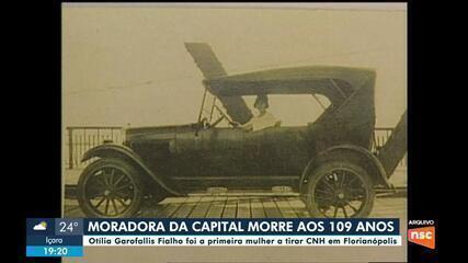 Primeira mulher a tirar CNH em Florianópolis morre aos 109 anos