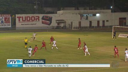 Comercial-SP vence Noroeste pela Série A3 do Campeonato Paulista