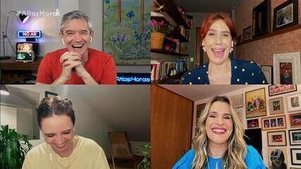 Ingrid Guimarães, Maria Clara Gueiros e Renata Gaspar falam sobre como é fazer humor