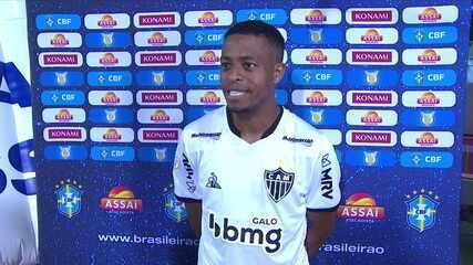 Keno exalta a vitória do Atlético e a liderança do Brasileirão