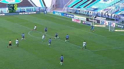 Melhores momentos de Grêmio 1 x 1 Palmeiras pela 11ª rodada do Campeonato Brasileiro