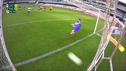 O gol de Coritiba 1 x 0 Vasco pela 11ª rodada do Brasileirão 2020