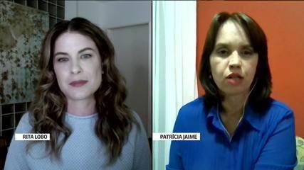 A chef Rita Lobo e a nutricionista Patrícia Jaime falam sobre alimentação e Covid