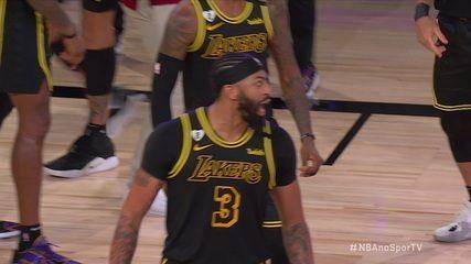 Anthony Daves define no estouro do cronômetro e Lakers vencem Denver Nuggets em final de conferência da NBA