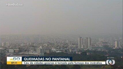 Vejam alerta importane sobre chegada dos ventos em Goiás