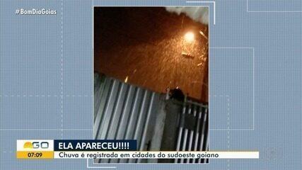 Chuvas podem cair em áreas isoladas de Goiás, mas fraca