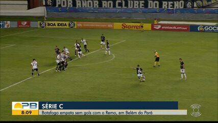 Veja como foi o empate sem gols entre Remo e Botafogo-PB em Belém