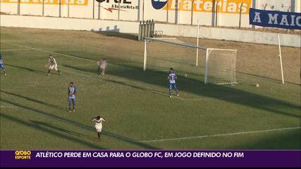 Na estreia da Série D, Atlético-PB perde em casa para o Globo FC