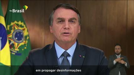 Bolsonaro: 'Há tanto interesse em propagar desiformações sobre nosso meio ambiente'