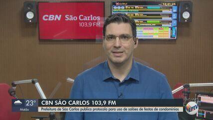 Prefeitura de São Carlos publica protocolo para uso de salões de festas em condomínios