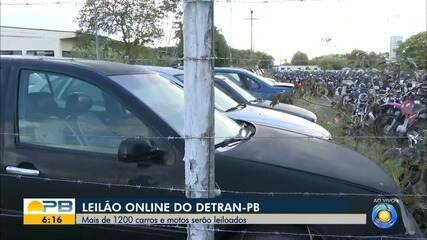 Detran-PB realiza leilão de mais de 1.200 veículos