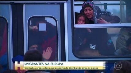 Nova proposta de acolhimento de refugiados