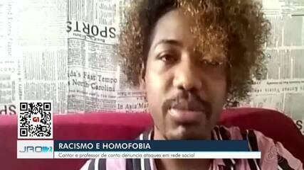 Artista de RO denuncia ataques homofóbicos e racistas na internet