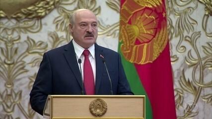Dezenas de pessoas são detidas em Belarus após Lukashenko tomar posse