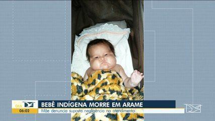 Bebê indígena morre na cidade de Arame, no Maranhão