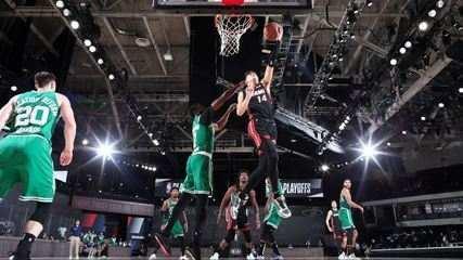 Melhores momentos de Miami Heat 112 x 109 Boston Celtics pela NBA