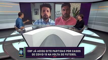 Cahê Mota atualiza situação do Flamengo e André Hernan traz informações sobre o Palmeiras