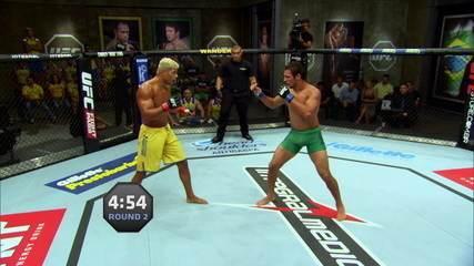 Reveja os três rounds da luta entre Márcio Lyoto e Paulo Borrachinha no TUF Brasil 3