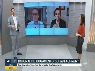 Cronograma de julgamento de impeachment em SC será definido nesta sexta; veja análise