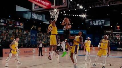 Diário da bolha da NBA destaca partida entre Denver Nuggets e Los Angeles Lakers